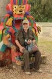 Touriste d'aîné de monsieur Photos libres de droits