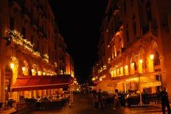 Touriste et achat-secteur de Beiruts autour de place de Nemjeh, où t photo libre de droits