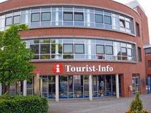 Touriste-infos, Scharbeutz Image libre de droits