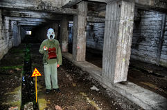 Touriste nucléaire Image libre de droits