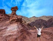Touriste solitaire Image libre de droits