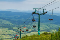 Touristen auf Hymba-Berg Lizenzfreie Stockbilder
