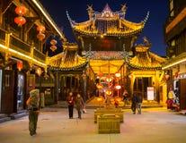 Touristen besuchen den Anblick von China Lizenzfreie Stockfotos