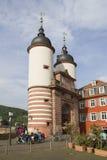 Touristen in Heidelberg, Deutschland Stockfotos