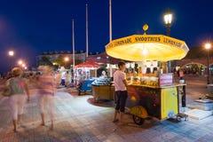Touristen in Key West lizenzfreies stockbild
