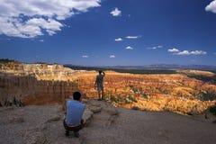 Touristen nähern sich Anordnungen stockfoto
