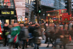 Touristen in Piccadilly Zirkus, 2010 Stockfoto