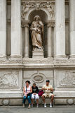 Touristen in Venedig Lizenzfreie Stockbilder