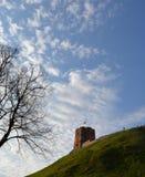 Touristenattraktion in Vilnius stockbilder