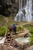 Touristes photo libre de droits