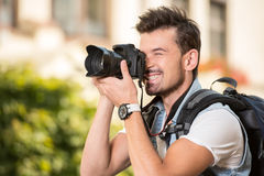 touristes Photographie stock libre de droits