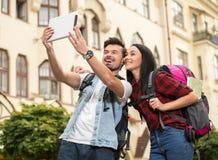 touristes Image libre de droits