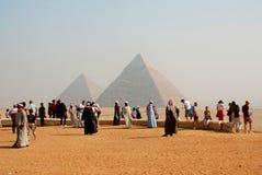 touristes Image stock