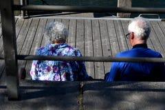 Touristes aînés Photo libre de droits
