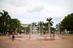 Touristes dans Cozumel Photo libre de droits