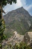 Touristes dans Machu Picchu images stock