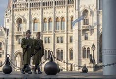 touristes de Budapest photos stock