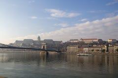 touristes de Budapest image stock