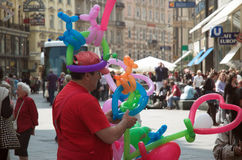 Touristes de Stephenplatz Photographie stock