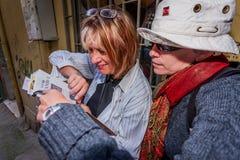 Touristes féminins à Istanbul Photo libre de droits