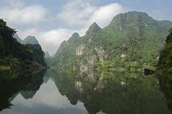 Touristes non identifiés dans Trang Image libre de droits