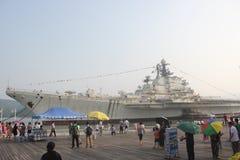 Touristes pour visiter le monde de transporteur de Ming SI g images stock