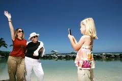 Touristes prenant des photos Images libres de droits