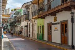 Touristes sur la rue images libres de droits