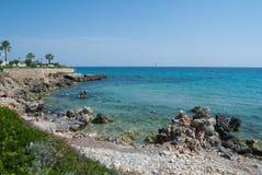 Touristic зона Minorca маленький остров Испании стоковые изображения