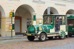 Touristic поезд в Праге Стоковая Фотография