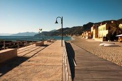 Touristic area known as varigotti italy Royalty Free Stock Photography