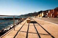 Touristic area known as varigotti italy Royalty Free Stock Photo