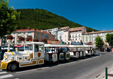 Little train of Sisteron, France Royalty Free Stock Image