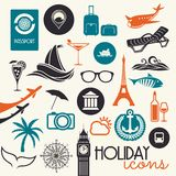Touristic background Stock Photography