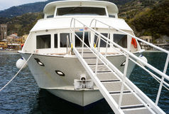 Touristic boat. Color image Stock Photos