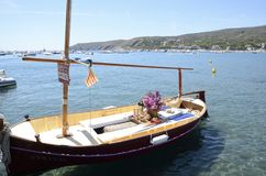 Touristic boat Stock Photos