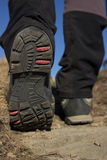 Touristic boots. Stock Photo