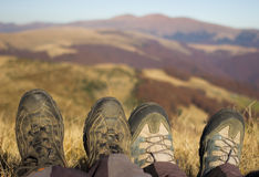 Touristic boots. Stock Image