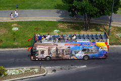Touristic bus Stock Image