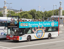 Touristic bus Stock Images