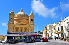 Touristic bus in Malta Royalty Free Stock Images