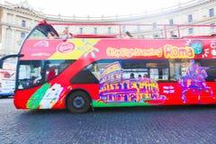 Touristic Bus Rome - Italy Stock Photos