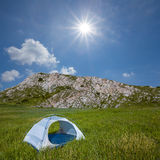 Touristic camp Royalty Free Stock Image
