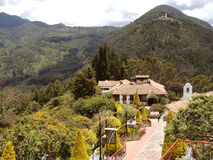 Touristic complex of the church of Monserrate. Stock Photography