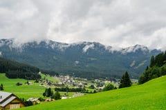 Touristic famous place Gosau, Austria Royalty Free Stock Photo