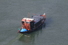 Touristic fartyg för portwine Royaltyfri Bild