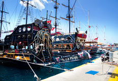 Touristic fartyg i Turkiet Royaltyfri Bild