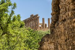 Landscape and landmarks of Sicily, Italy