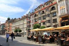 Touristic Innsbruck Stock Photography