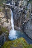 Touristic johnston canyon Royalty Free Stock Images